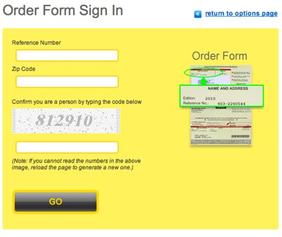 Yellow Pages United Do Not Mail Signin